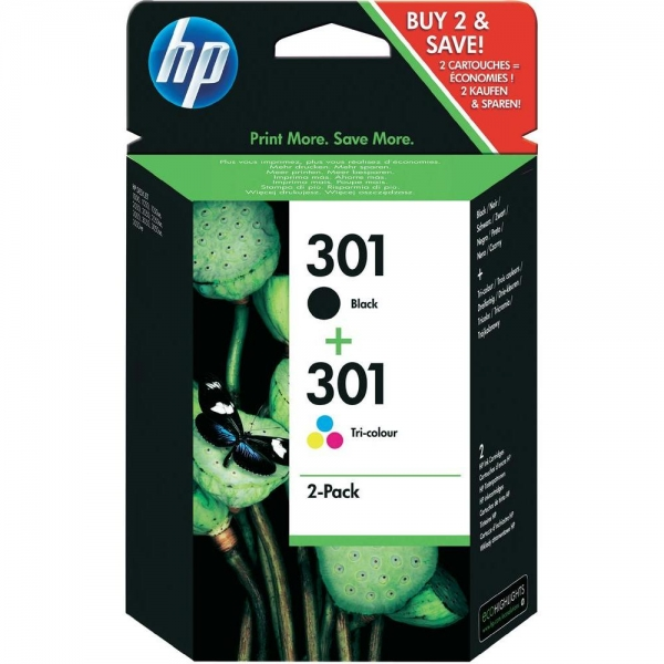 hp 301 print cartridge multipack. Black Bedroom Furniture Sets. Home Design Ideas