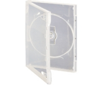 10 x Single Clear DVD case(no VAT on prices)