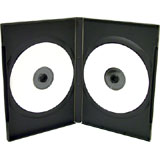 100 x Double 7mm DVD Cases(no VAT on prices)