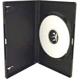 100 x  Single 7mm DVD Cases(no VAT on prices)