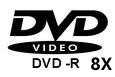 DVD-R X8 (NO VAT on prices)