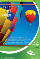 NEO 135gms A4 Gloss Paper(Now no VAT)