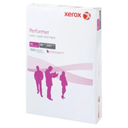 Xerox Performer Printer Paper, White, A4, 80gsm